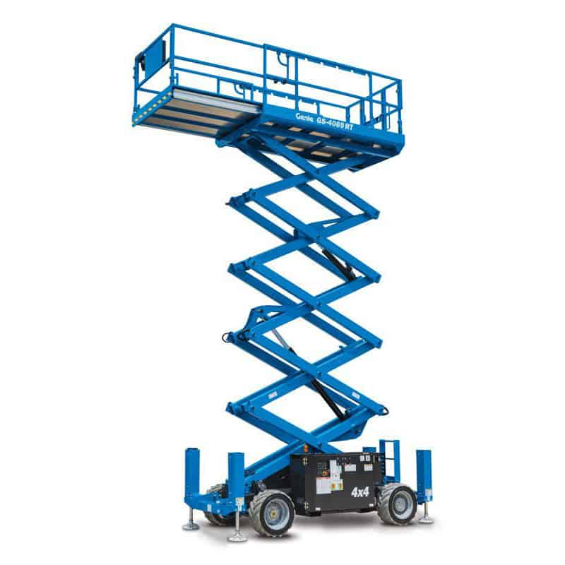 Genie GS-4069 RT – 14.12 m Rough Terrain Scissor Lift