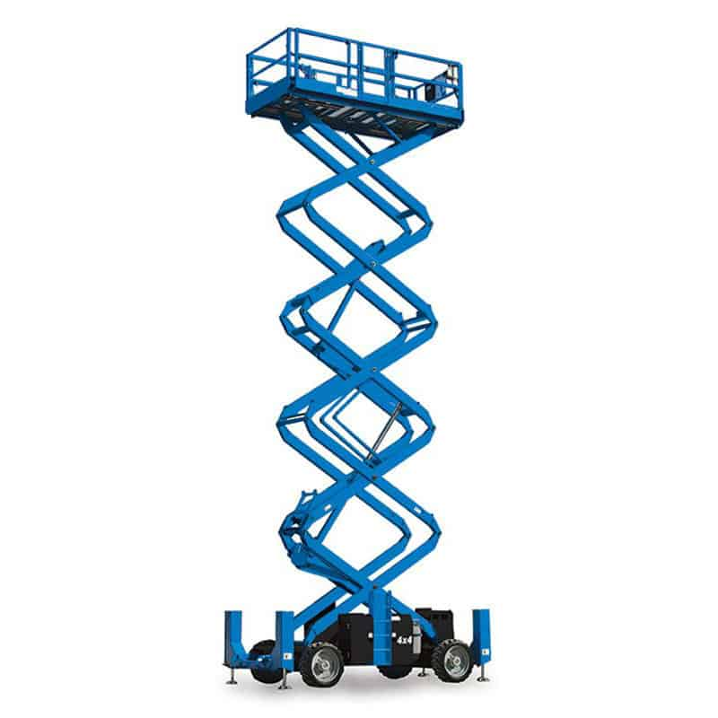 Genie GS-4390 RT – 14.75 m Rough Terrain Scissor Lift