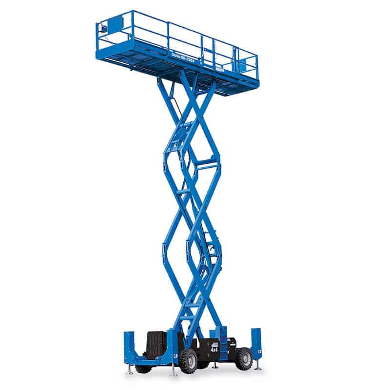 Genie GS-3384 RT – 11.94 m Rough Terrain Scissor Lift