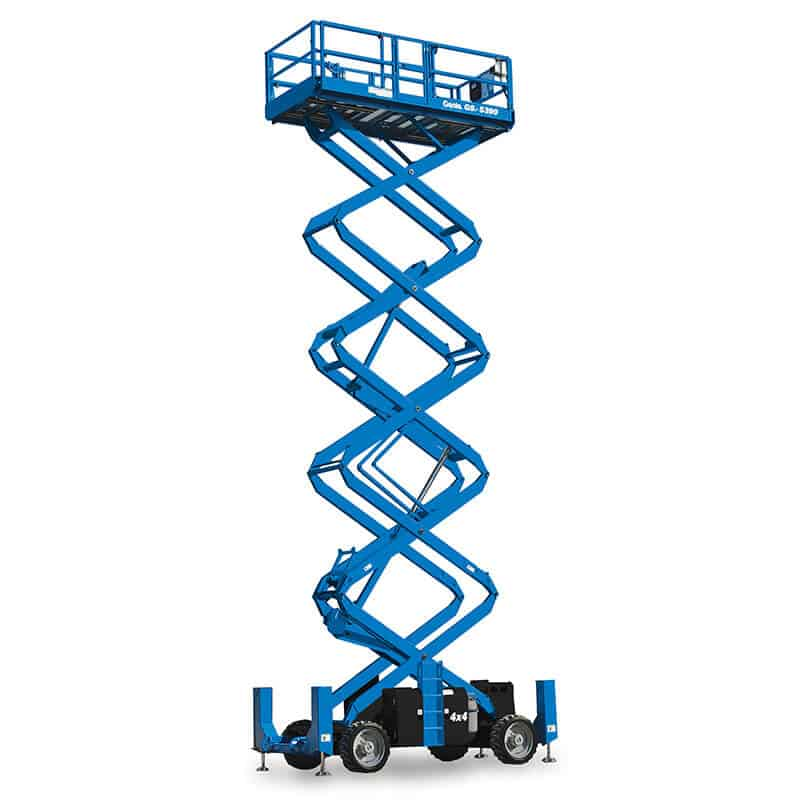 Genie GS-5390 RT – 17.95 m Rough Terrain Scissor Lift
